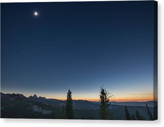 Day Becomes Night Canvas Print