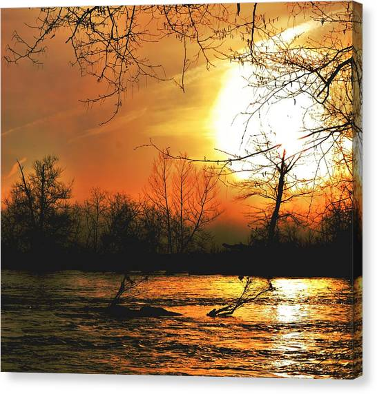 Day Break Canvas Print