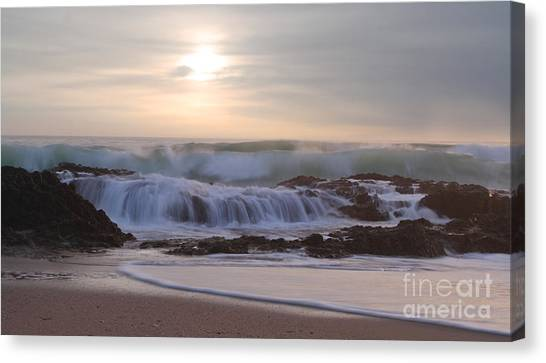 Day Break Paradise Canvas Print