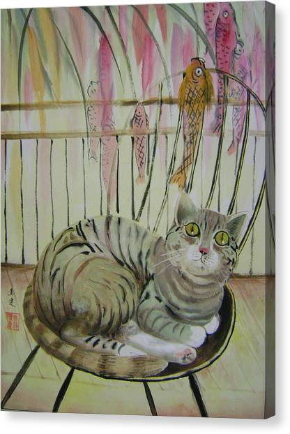 Day Dreaming Canvas Print by Lian Zhen