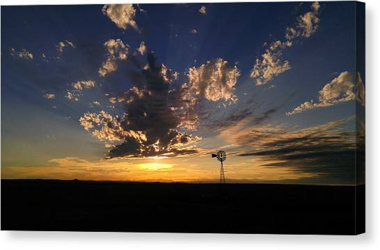 Day Is Done Canvas Print