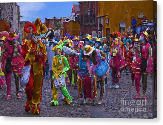 Day Of The Crazies 2013 Canvas Print