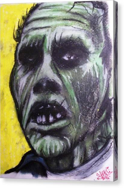 Day Of The Dead - Bub Canvas Print by Sam Hane