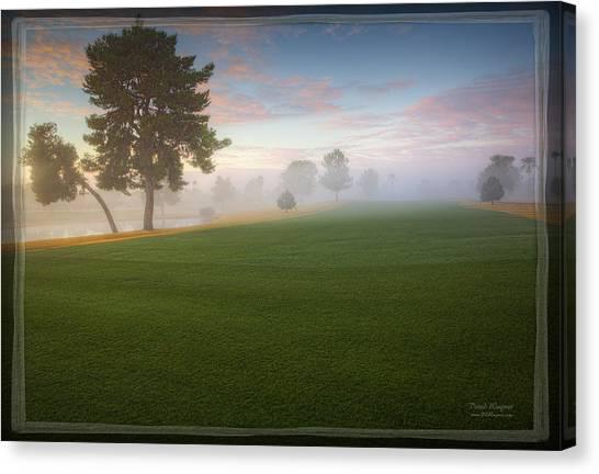 Daybreak At Willowcreek Canvas Print
