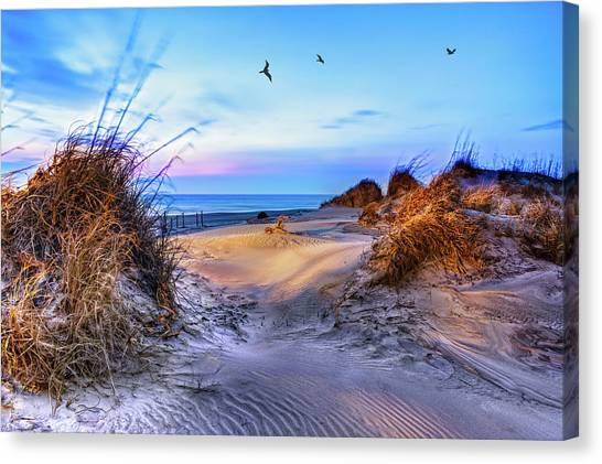 Daybreak On The Outer Banks 1 Canvas Print