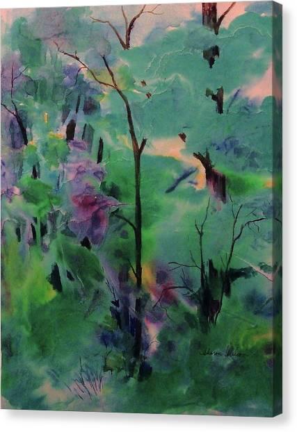 Daybreak Canvas Print by Sharon K Wilson