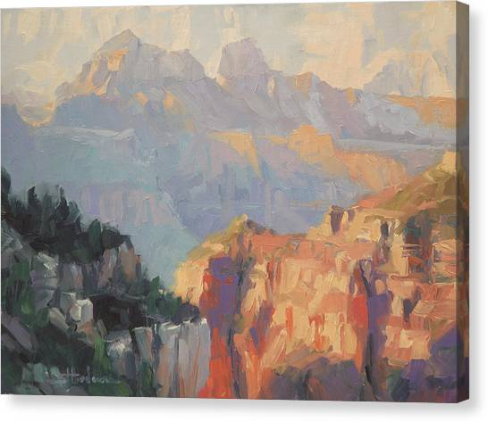 Grand Canyon Canvas Print - Daybreak by Steve Henderson