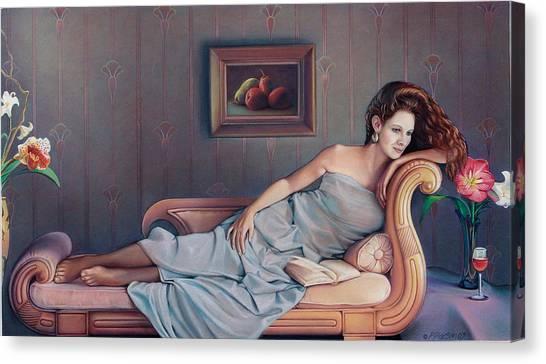 Amaryllis Canvas Print - Daydream Believer by Patrick Anthony Pierson