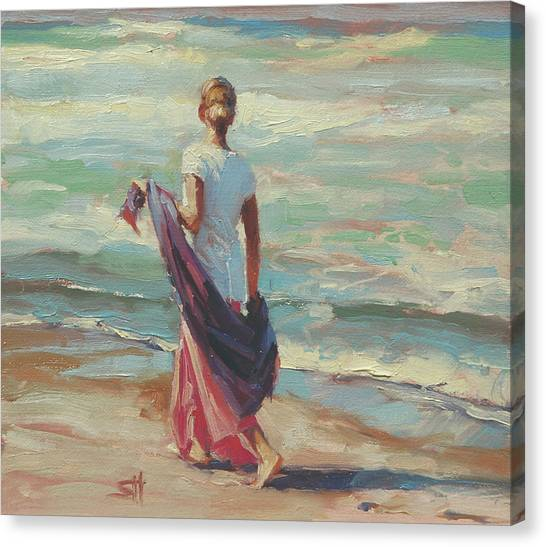 Pacific Coast Canvas Print - Daydreaming by Steve Henderson