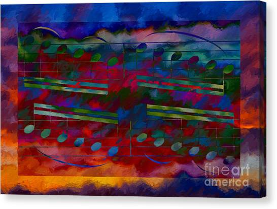 Daylight Diminuendo Canvas Print