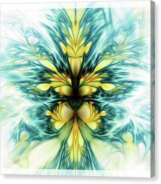 Dayqueen #art #abstract #digitalart Canvas Print by Michal Dunaj