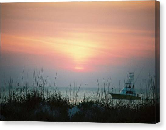 Days End.. Canvas Print