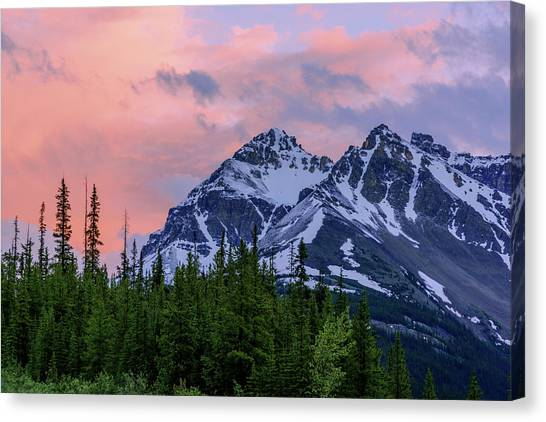 Cloud Forests Canvas Print - Day's End by Chad Dutson