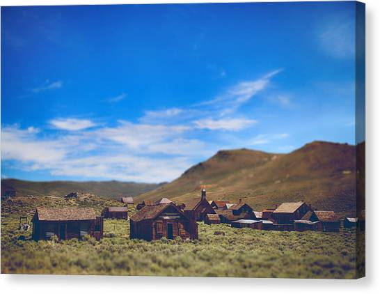 Historic Site Canvas Print - Days Of Old by Laurie Search