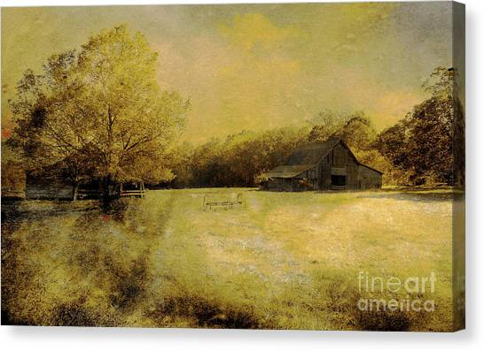 Days Past Canvas Print