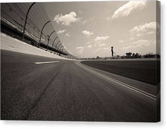 Daytona 500 Canvas Print - Daytona Beach International Speedway - Florida by Andy Moine