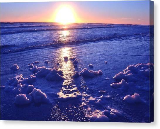 Daytona Beach Sunrise Canvas Print