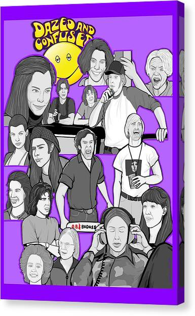 Dazed And Confused  Canvas Print by Gary Niles