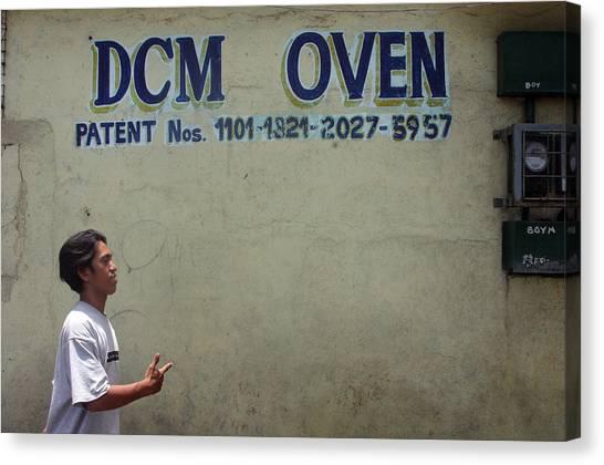 Dcm Oven Canvas Print by Jez C Self