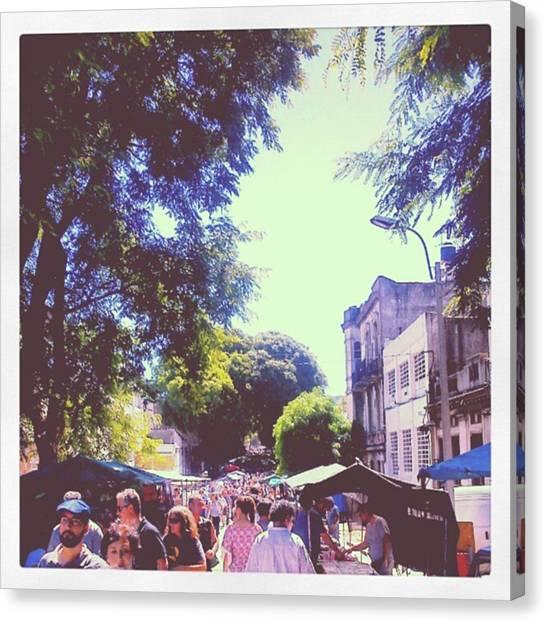 Portal Canvas Print - De Feria by Fernando Portal