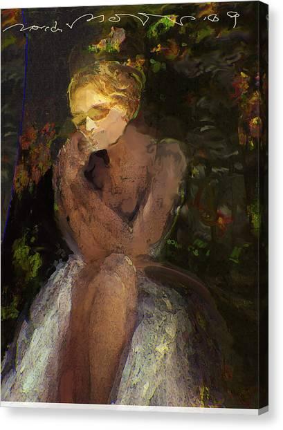 De Jardin 2 Canvas Print by Noredin Morgan