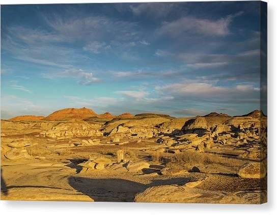 De Na Zin Wilderness Sunset Canvas Print