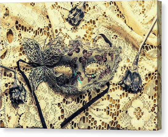 Masquerade Canvas Print - Dead Blossoms Days by Jorgo Photography - Wall Art Gallery