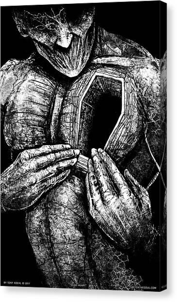 Dead Heart Canvas Print