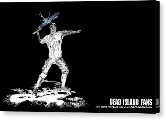 Biology Canvas Print - Dead Island by Maye Loeser