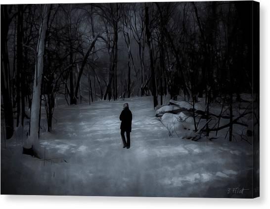 Dead Of Winter Canvas Print