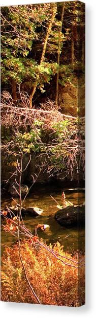 1 Of 6 Dead River Falls  Marquette Michigan Section Canvas Print