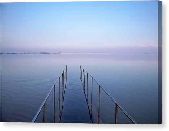 The Dead Sea Canvas Print