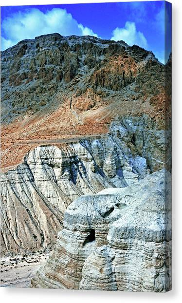 Dead Sea Scroll Caves Canvas Print