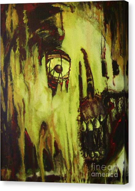 Dead Skin Mask Canvas Print