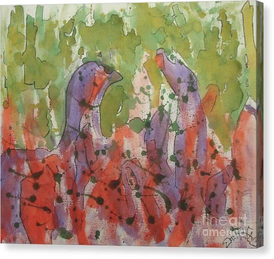 Deamons Canvas Print by Jason Whitehead