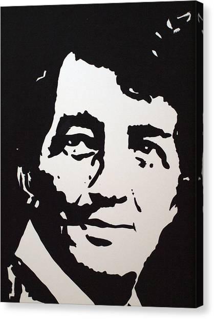 Dean Martin Loving Life Canvas Print