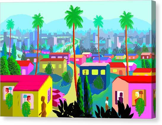 Dear California Canvas Print by Charles Harker
