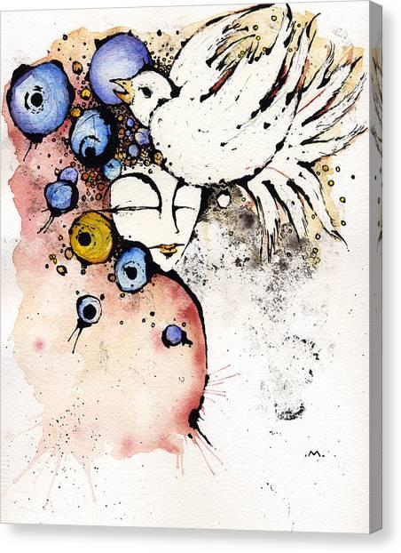 Lyrice Canvas Print - Dear Prudence.... by Mark M  Mellon