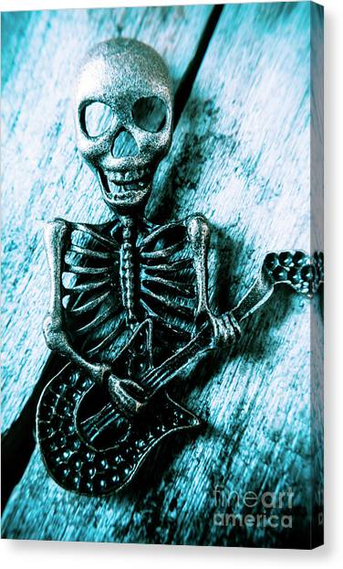 Rocker Canvas Print - Death Metal Blues by Jorgo Photography - Wall Art Gallery