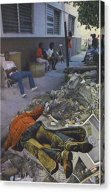 Death Of A Salesman Canvas Print by Kevin Porter