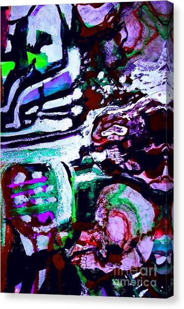 Death Study-6 Canvas Print