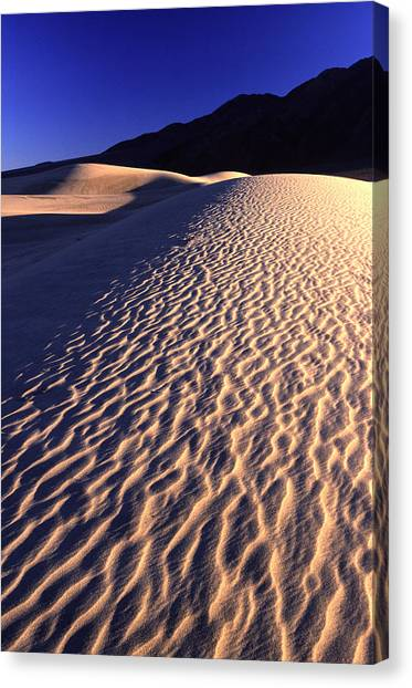 Death Valley Dune Canvas Print