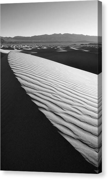 Desert Sunrises Canvas Print - Death Valley by Mike Irwin