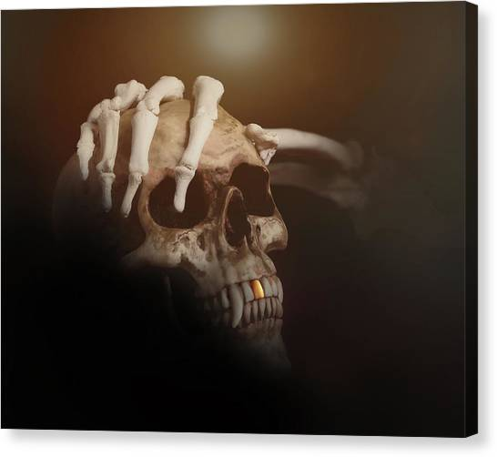 Star Trek Canvas Print - Death's Head by Tom Mc Nemar