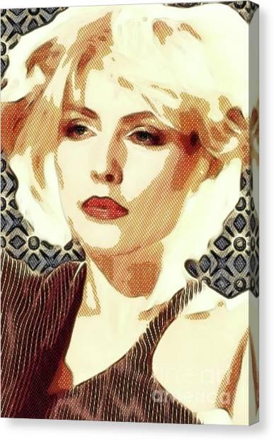 Bluegrass Canvas Print - Debbie Harry, Blondie by Mary Bassett