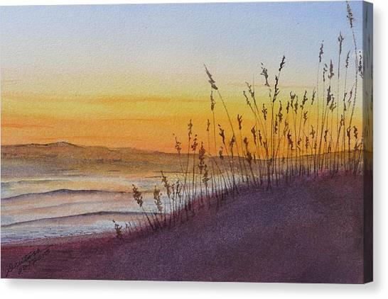 December Dawn - Kitty Hawk Canvas Print