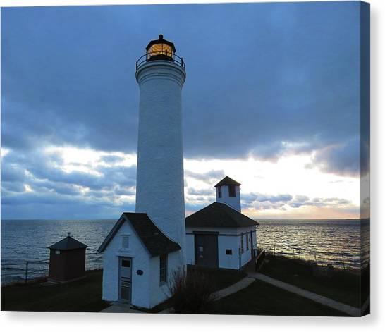 December Light, Tibbetts Point  Canvas Print
