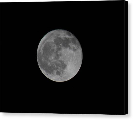 December Moon Canvas Print