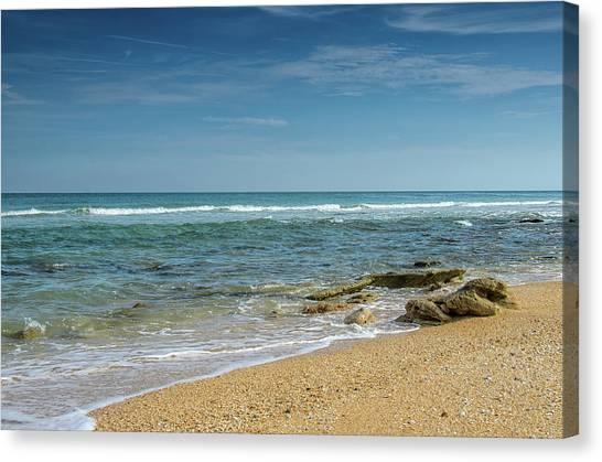 December Ocean Canvas Print