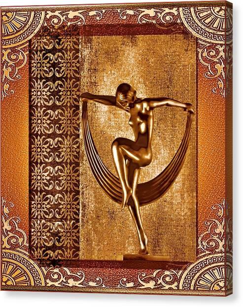 Deco Art Canvas Print